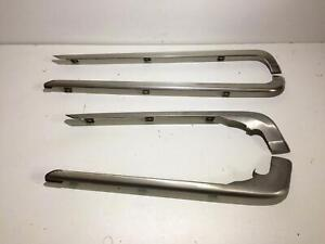 OEM Audi 80 90 Coupe 4000 front and rear bumper molding trim panels