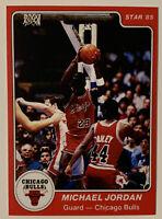 1985 STAR MICHAEL JORDAN #101 ROOKIE CARD RC reprint? NEAR MINT TO MINT