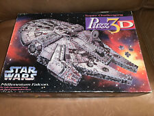 Puzz 3D Star Wars Millenium Falcon puzzle - opened but well cared for