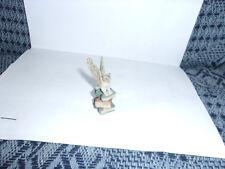 Nostalgie Porzellan-Eule auf Bücher-Kaufladen-Puppenhaus-Puppenstube-ca 1:12
