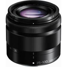Panasonic 35-100 mm f4-5.6 LUMIX G VARIO ASPH OIS Lens White Box-Noir