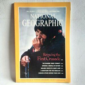 National Geographic Magazine September 1989
