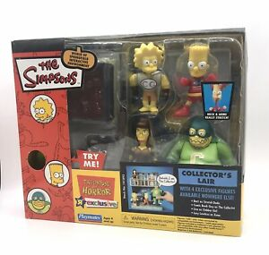 Playmates The Simpsons Treehouse of Horror Collectors Lair 2003 Exclusive