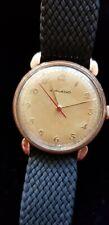 Genuine Vintage Rose Gold Gentleman's Movado Watch in working order