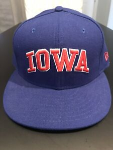 Iowa Cubs Fitted New Era 5950 Cap Hat 7 1/2 NWT Made In USA