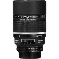 Nikon NIKKOR 135mm f/2 D AF DC, Open Box, never used, hoya filter included.