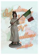 150 anni unità d'Italia Capodimonte Porcellane Carusio