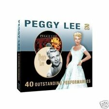 Peggy Lee Fever FOR SENTIMENTAL REASONS 2-cd NUEVO 4022