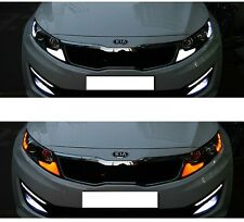 (Fits: 2011-2013 Optima K5) Front Turn Signal 2way Upgrade Panel LED Modules