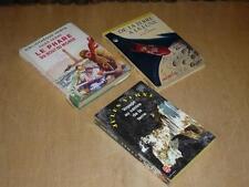[JULES VERNE] LE PHARE DU BOUT DU MONDE / BIBLIOTHEQUE VERTE Jaquette + 2 Vol.