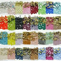 Crystal Clear AB Top Czech Crystal Rhinestone Flatback Nail Art Jewelry Making