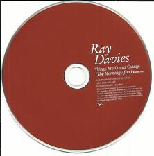 The Kinks RAY DAVIES Things Are Gonna Change EDIT MADE IN EUROPE PROMO CD single