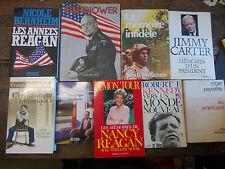Lot de 9 livres sur l'Amérique