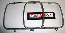 Toyota MR2 MK2 Front Headlight Head Light  Bezels Surrounds - Mr MR2 Used Parts