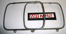 Toyota MR2 MK2 Front Headlight Head Light  Bezels Surrounds - Mr MR2 Used Parts