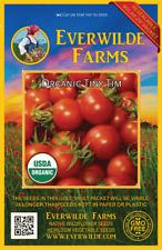 Everwilde Farms Mylar Seed Packet 50 Organic Roma Heirloom Tomato Seeds