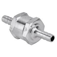 Ø6mm Alluminio Valvola di Ritegno Non Ritorno Carburante Benzina Gasolio Diesel
