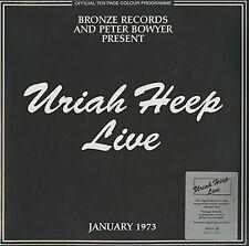 Uriah Heep - Live 1973 [New Vinyl LP] Italy - Import