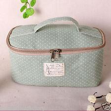 Green Travel Storage Packing Organizers, Makeup Cosmetic Bag Travel Organizer