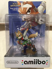 Amiibo Nintendo Super Smash Bros FOX figure toy VERY RARE