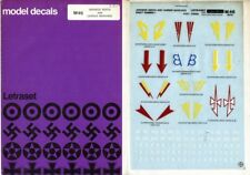 Model Decal Japanese Sentai and Carrier Markings Letraset #46