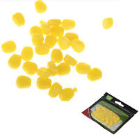 Soft Baits Simulation Corn Kernels Fishing Lures Tackles Corn Smell 30Pcs EO