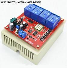 85~250 Remote Control WIFI Switch Smart Home Automation Sonoff 4CH wireless WiFI