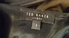 Designer Ted Baker Cocktail Prom Ball evening party Dress Size 1 Worn Once