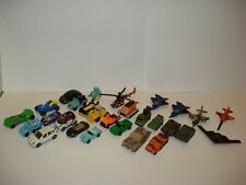 28x Micro Machines Tanks planes cars Vehicle Mini Military Army & others