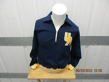 VINTAGE RUSSELL ATHLETIC AKRON/AU UNIVERSITY ZIPS WOMEN'S MEDIUM SEWN JACKET 70S