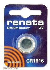 Renata CR1616 Single Use Batteries