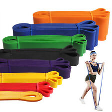 Pull up Assist Band Exercise Resistance Elastic Leg Bands Workout Body Stretch