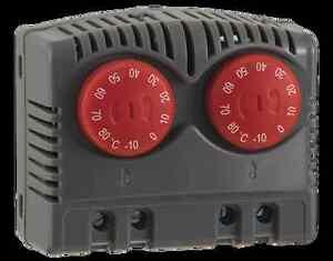 Seifert Variable twin thermostat NCNC -10°C - +80°C