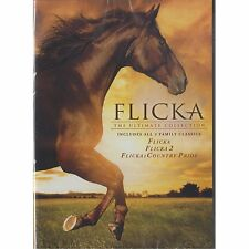 Flicka Triple Feature DVD, 2014, 3-Discs Flicka, Flicka 2, Flicka; Country Pride