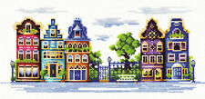 "Counted Cross Stitch Kit MAKE YOUR OWN HANDS - ""Quiet street"""