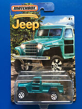 2016 Matchbox JEEP ANNIVERSARY 1951 JEEP WILLYS 4 x 4 pickup truck - mint card!