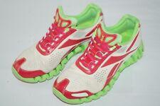 Reebok Men's Zigtech Zigsonic Green/Red/Beige FLU Running LGB Sneaker Shoes 10.5