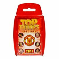 Top Trumps Specials: Manchester United FC 2011 Great football facts game!