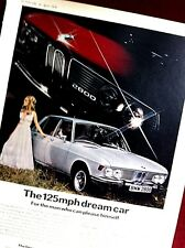 BMW 2800 -1969 - Road Test removed from Motor Sport  magazine + Advert