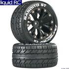 Duratrax C3542 Bandito 2.8 St 2WD Rear Tires C2 Mounted Black 12mm Hub (2)