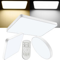 18W 20W 36W 48W 72W LED Deckenleuchte Küchenlampe Dimmbar Aufbau Panel Flur 220V