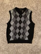 Axcess Argyle Sweater Vest Pullover Mens Large