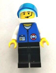 LEGO 1999 Minifigure res011 Town, Coast Guard City Center - Coast Guard HQ 6435