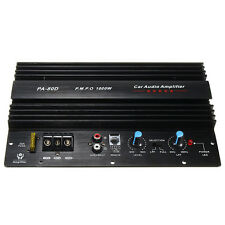 1000W High-power Audio Momo Amplifier Board Car Home Subwoofer Super Bass Amp12V