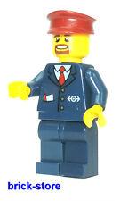 LEGO®  EISENBAHN(60051) Bahn Mitarbeiter Schaffner(3677,7838,7839,7898,60052)