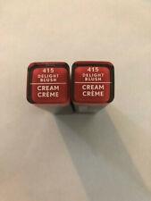 (2) Covergirl Exhibitionist Cream Lipstick, 415 Delight Blush