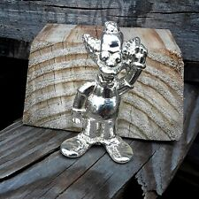 Krusty The Clown Poured Silver 4 Ozt 925
