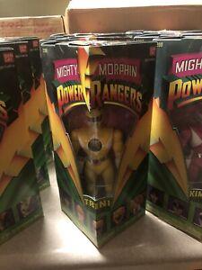 "Bandai Mighty Morphin Power Rangers 8"" TRINI YELLOW RANGER 1993 Triangle Box MIB"