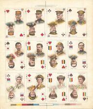 Uncut Sheet of 12 - France/Belgium