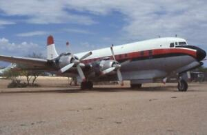 35mm Aircraft Slide N51701 '31' Douglas DC-7B Pima 1997